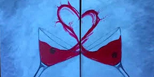 Couple's Valentine Canvas Paint Night