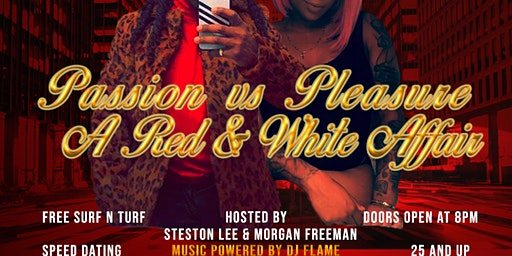 Passion Vs Pleasure: A Red and White Affair