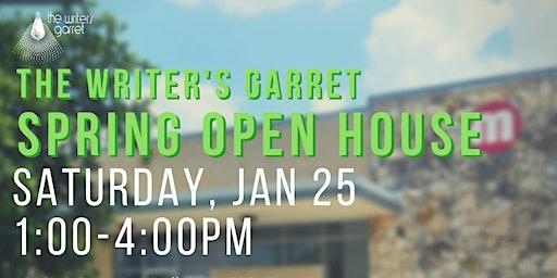 The Writer's Garret Spring Open House