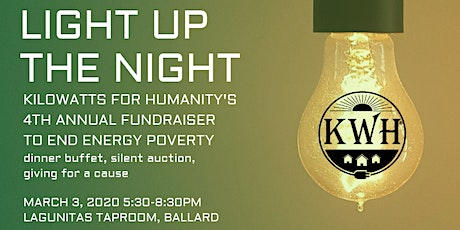 Light up the Night! Kilowatts for Humanity 4th Annual Fundraiser tickets