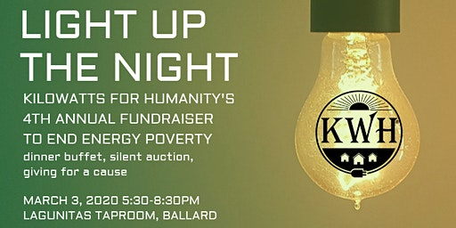 Light up the Night! Kilowatts for Humanity 4th Annual Fundraiser