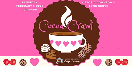 Cocoa Crawl in Historic Downtown Long Grove