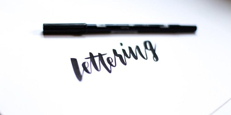Hand Lettering Class tickets