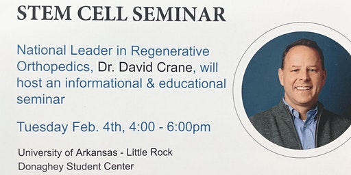 Stem Cell Seminar with David Crane, MD