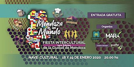 """""""MENDOZA ES UN MUNDO"""" Fiesta Intercultural 1era Edición entradas"""