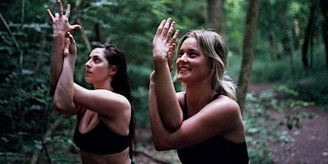 EveryDay Inspired MeetUp: REWILD Yoga + Wine tickets