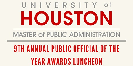 9th Annual Public Official of the Year Awards Luncheon tickets