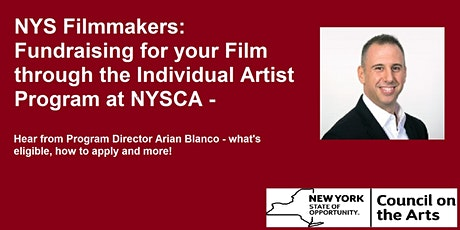 Film Grants from the New York State Council on the Arts tickets
