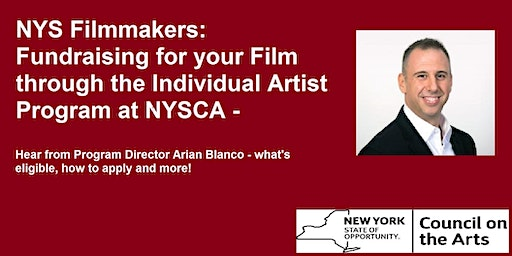 Film Grants from the New York State Council on the Arts