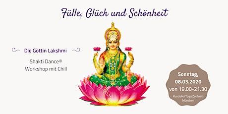 Fülle, Glück und Schönheit - die Göttin Lakshmi   Shakti Dance Workshop Tickets