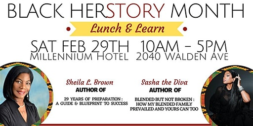 Black Herstory Month Lunch & Learn