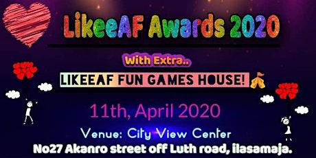 LIKEEAF AWARDS 2020 tickets