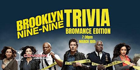 Brooklyn Nine-Nine Trivia - March 10, 7:30pm - CBH Mahogany tickets