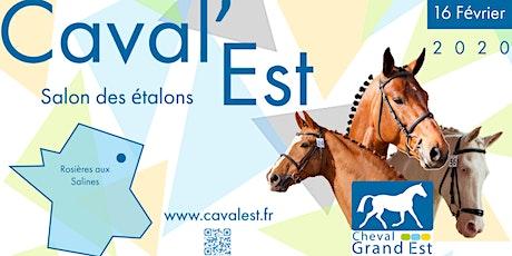 Caval'Est, le salon des étalons du Grand Est billets