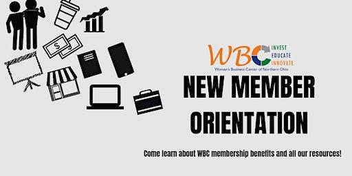 WBC New Member Orientation