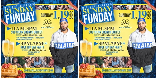 MLK Day Weekend Brunch/Rooftop Day Party