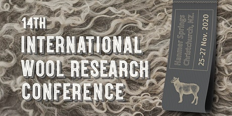14th International Wool Research Conference 2020 tickets