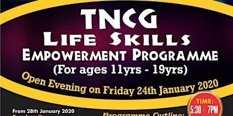 TNCG Life Skills Empowerment - Open Evening tickets