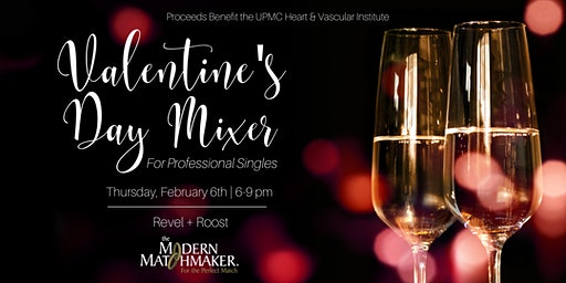 Valentine's Day Mixer for Professional Singles