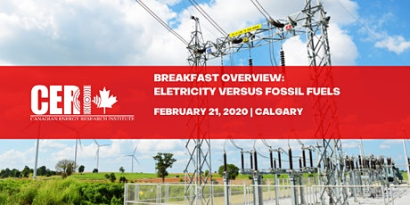 Breakfast Overview - Electricity versus Fossil Fuels tickets