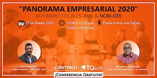 PANORAMA EMPRESARIAL 2020 | REFORMAS FISCALES & NOM-035-STPS-2018