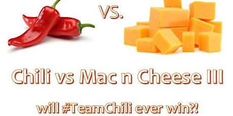 Chili vs Mac III - Will #TeamChili ever win? tickets