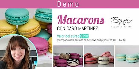 Demo de Macarons con CARO MARTINEZ entradas