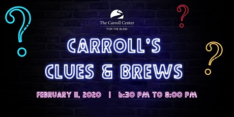 Carroll's Clues and Brews tickets