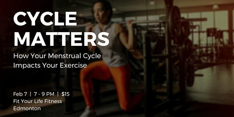 Cycle Matters: How Your Menstrual Cycle Impacts Your Exercise tickets