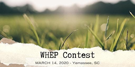 2020 South Carolina WHEP Contest