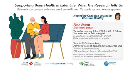 Supporting Brain Health in Later Life: What the Research Tells Us tickets