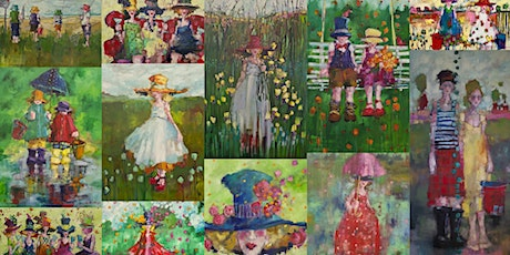 Colourful People • Oil Painting Demonstration by Angela Morgan 2020 tickets