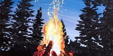 Wine + Paint: Sippin 'round the Bonfire
