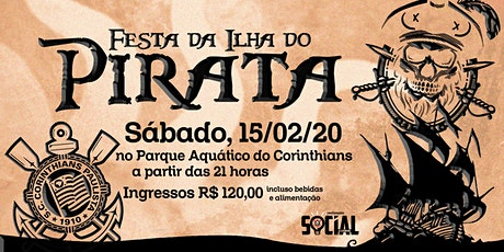 Festa da Ilha do Pirata no Corinthians ingressos