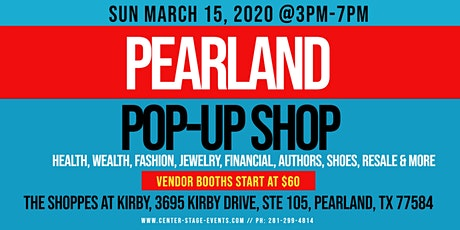 Pearland Pop-Up Shop (Sun March 8) tickets