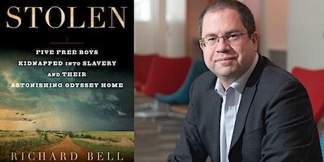 POSTPONED - Stolen - Book Talk with Richard Bell tickets