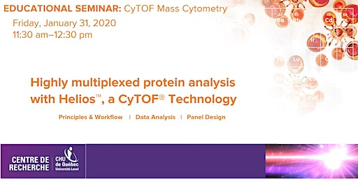 Highly multiplexed protein analysis with Helios, a CyTOF Technology