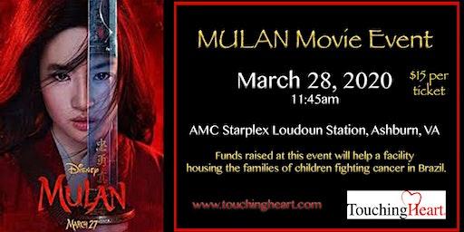 2020 Mulan Movie Event