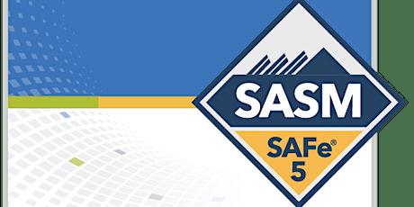 SAFe® 5.0 Advanced Scrum Master tickets