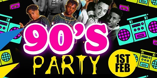 Wreck-itEnt 90's Party