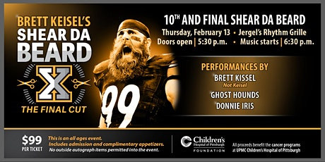 Brett Keisel - Shear Da Beard - The Final Cut! tickets