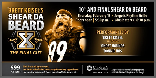 Brett Keisel - Shear Da Beard - The Final Cut!