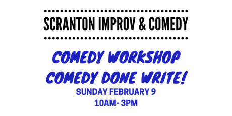 Comedy Done Write! Workshop for Stand-up, Storytelling or Copywriting tickets
