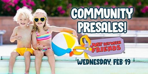 Just Between Friends Lee's Summit - Spring 2020 Community Presales!
