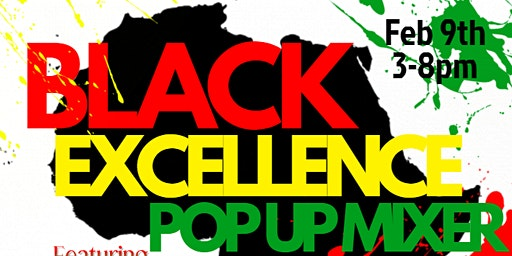 Black Excellence Pop Up Mixer
