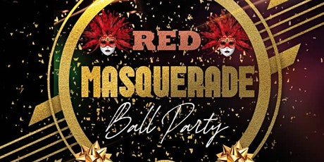 Red Masquerade Ball Party tickets