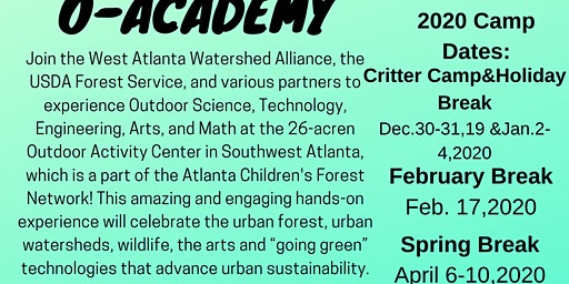 O-Academy: April SpringBreak Camp 2020