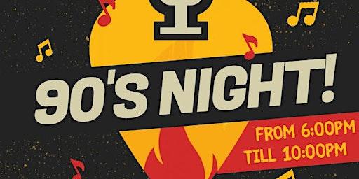 90's Night at Tailgate Tavern