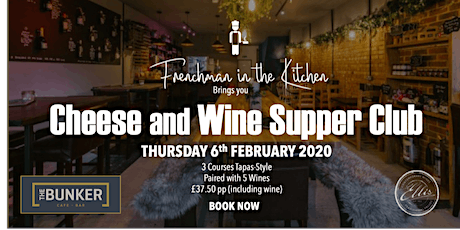 Cheese and Wine Supper Club tickets