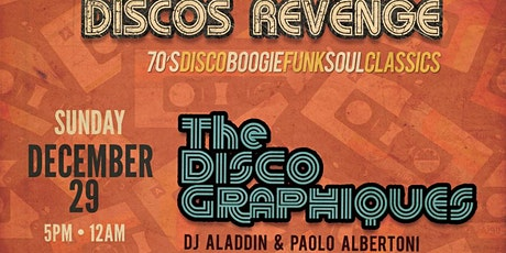 Discos Revenge Miami w/ The Discographiques - 12/29/19 tickets